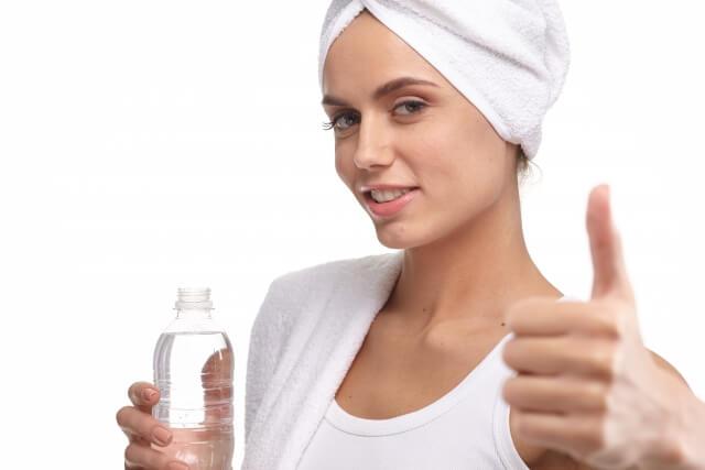 炭酸水の美容効果