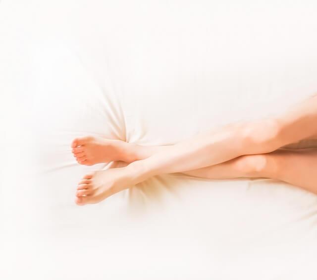 自分の膝の黒ずみのレベル
