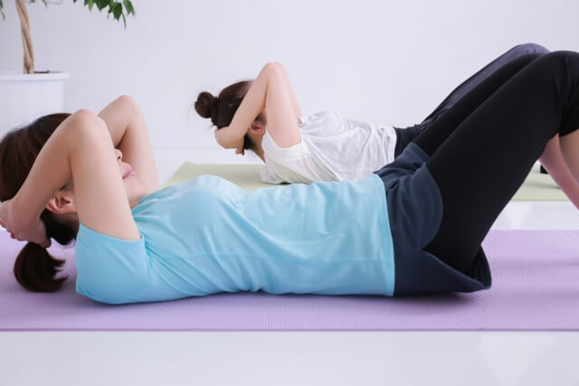筋トレと有酸素運動をすること