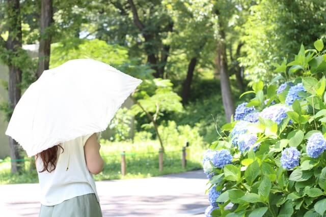 春の肌荒れの原因②:紫外線
