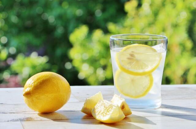 レモン水の作り方とポイント