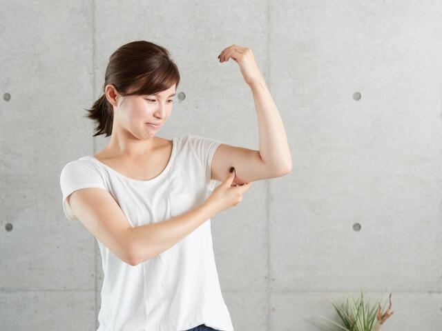 二の腕痩せに即効性が高い効果的な13つのダイエット方法