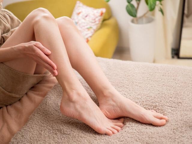 足のむくみ予防で手軽にケア