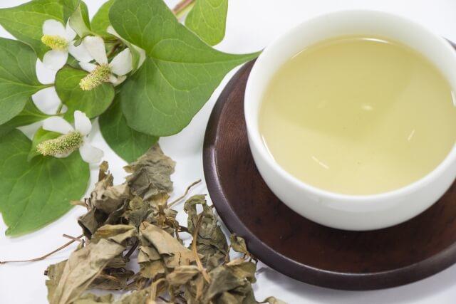 ⑧ドクダミ茶