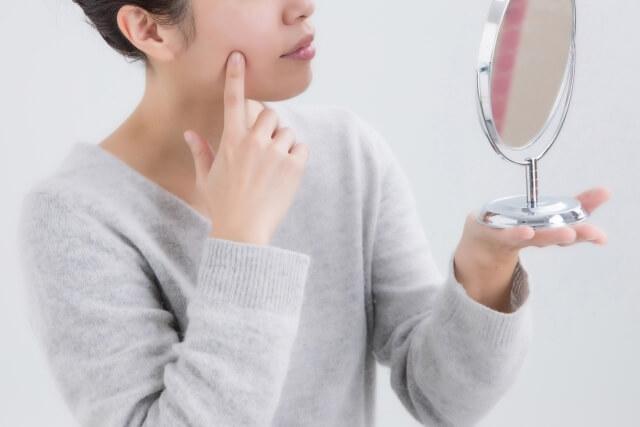 頰のたるみをチェックする方法