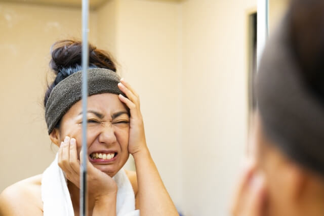 老け顔を改善法!老けた顔を若返らせる9つの改善・予防法
