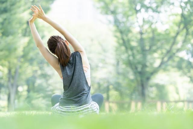 ストレスによる荒れは血流促進がポイント