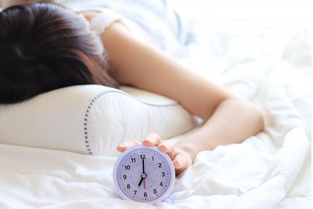 不規則な睡眠や眠りが浅い