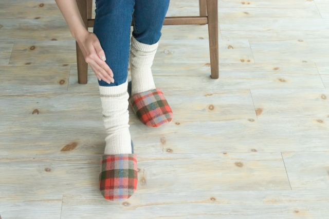 足の冷え性を改善する5つの対策法!血行不良の他にも原因が