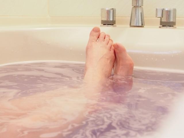 入浴は10分以内にする