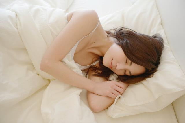 睡眠をたっぷり取る
