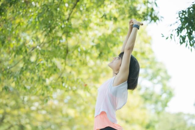 適度な運動で全身の血行を促進する