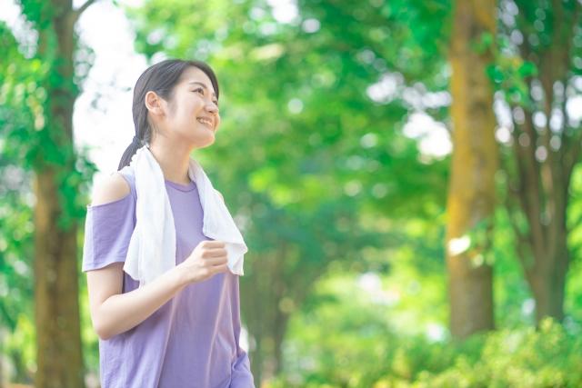 有酸素運動で脂肪を燃焼しやすい体作り
