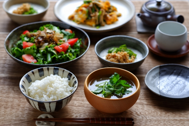 バランスの良い食事を心がける